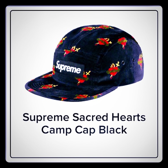 Hp Sacred Heart Print Camp Cap